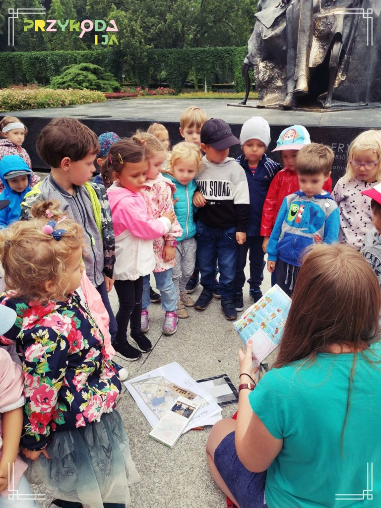 Przyroda i JA edukacja dla dzieci zajęcia terenowe 16