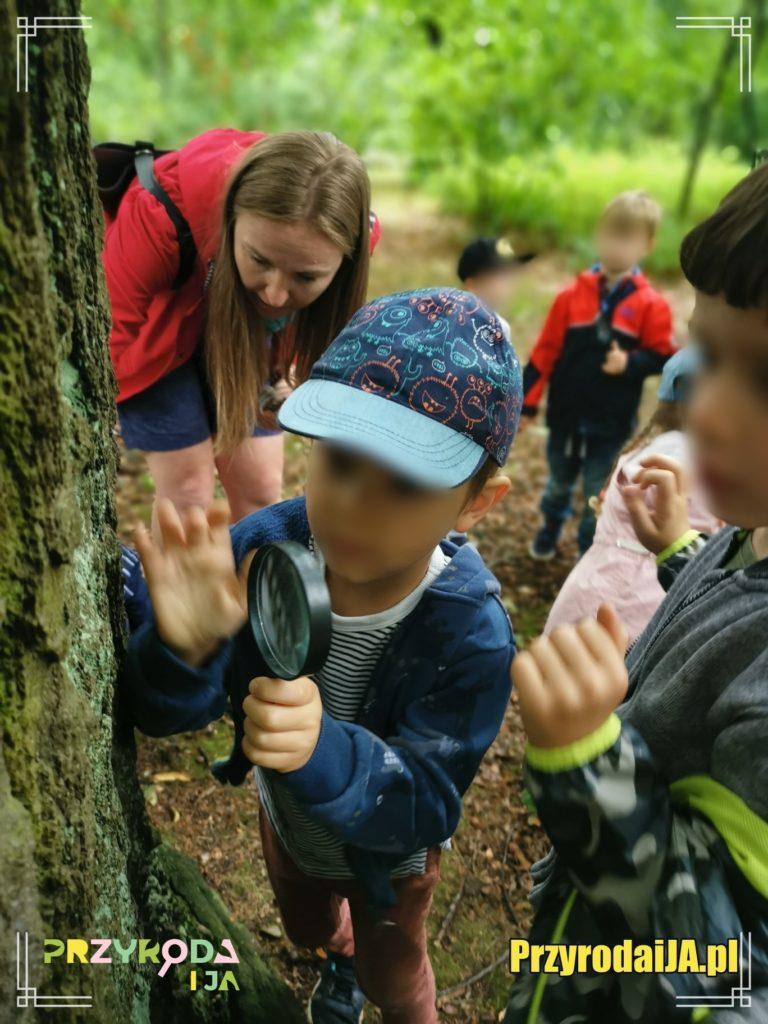 Przyroda i JA edukacja dla dzieci zajęcia terenowe 32